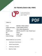 TAREA 4.2 CAMBIO CLIMÁTICO DEL PERÚ