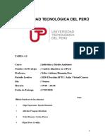 TAREA 4.1 RECURSO HÍDRICOS DEL PERÚ