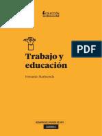 Cuaderno 3. Trabajo y educación