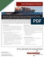 Integration Point ExportMgmt Brochure 2010