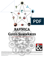 Ravnica Guild Summaries