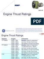 Thrust Rating Summary 11-6-2009
