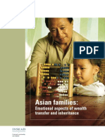 Asian Families Emotional Aspects of Wealth Transfer and Inheritance
