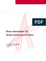 Aras Innovator 12.0 - Backup and Recovery
