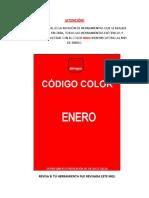 CODIGO DE COLOR