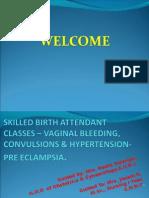 Skilled Birth Attendant Classes- Janani