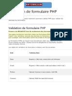 validation php