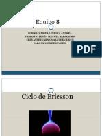 Ciclo de Ericsson equipo 8