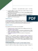 Institutions de l'UE - Presentation Generale