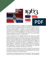 Ensayo de la Constitución Dominicana