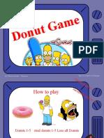 The Simpson Move Donut Quiz