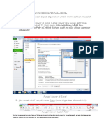 Fungsi Solver pada Excel_Riset Operasional