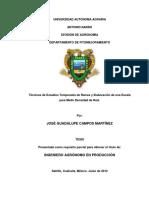 TÉCNICAS DE ESTUDIOS TEMPORALES DE RAÍCES Y ELABORACIÓN DE UNA ESCALA PARA MEDIR DENSIDAD DE RAÍZ