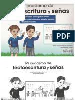 Mi Cuaderno de Lectoescritura y Señas