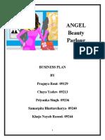 Enterprenuership Bussiness Plan