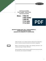 Manual-Motocultor-Agrimac-7708RV-GHRV, 7709RV, 7710GRV, 7714REV-SP-EN-FR