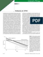 2007 - Definición de EPOC