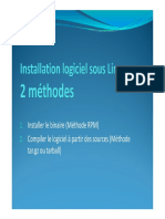 Linux-Cours7-Installation logiciel