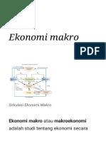 Ekonomi makro - Wikipedia bahasa Indonesia, ensiklopedia bebas