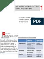 ACCA TTT 2020 - Audit and Assurance - Keypoint