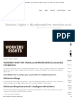 Workers' Rights in Nigeria and the remedies available for breach - Lex Artifex LLP. - Law Firm in Nigeria.pdf