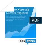 Affiliate Network Secrets Exposed