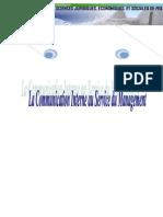 Communication Interne Au Service Du Management Doc