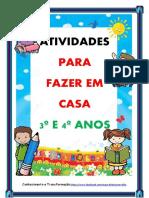 ATIVIDADES PARA FAZER EM CASA 3º E 4º ANOS LP BLOG (1)