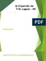 Projeto de Expansão da Fábrica de Três Lagoas