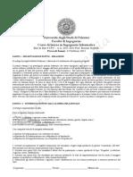 Compiti Basi di Dati 6CFU (Sorbello)2010-11-12