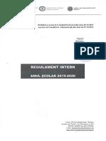 Liceul GRR Regulament Intern 2019 2020