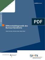 (aleman) Diagnostico diferencial del Burnout