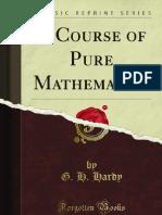 A Course of Pure Mathematics - 9781440079078