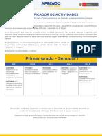 Semana 1 - 1er Grado Primaria.pdf
