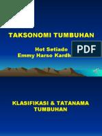 KULIAHTAXONOMY TUMBUHAN-AGB2019