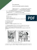 EJA IV - ATIVIDADE- Denotação e conotação
