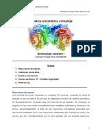 Cinética Enzimática Compleja - Emiliano PP - Sem i