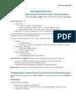 HELICOBACTER PYLORI epidemiologia y fisiopatologia - resumen uptodate.pdf