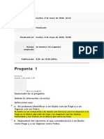 Evaluacion  1 Finanzas