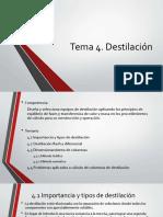 Tema 4 Destilación