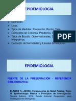 Semana 2 MDPT - EPIDEMIOLOGÍA. PRIMERA PARTE