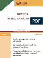 030 Chapter 3 Problem Solving Technique