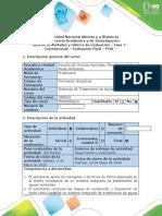 Guía de actividades y rúbrica de evaluación – Fase 7 – Correlacional (1).docx