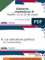 CICOM 2° Características de la caricatura política