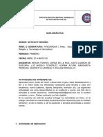 GUÍA DIDÁCTICA INTEGRADA - 8° y 9° (PARA ESTUDIANTES)