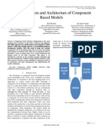 Characterization and Architecture of Component Based Models