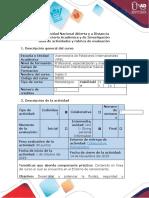 Guía de actividades y rúbrica de evaluación. Task 4 - Speaking Production (1)