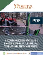 Bio seguridad servicios públicos