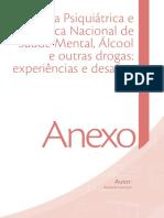 TEXTO BASE. LANCETTI. a Reforma Psiquiátrica e a Política de Álcool e Outras Drogas Experiências e Desafios