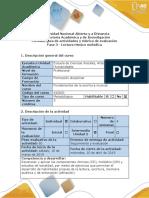 Guía de actividades y rúbrica de evaluación - Fase 3,4  - Lectura rítmico melódica